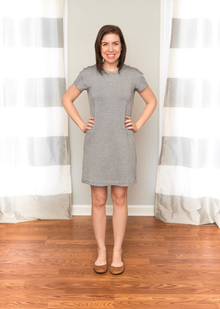 Essential Mom Capsule Staple: the Basic Grey Dress